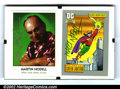 Original Comic Art:Miscellaneous, Martin Nodell - Autographed Green Lantern Cards. Two collectiblecards in a desktop frame. Signed by Nodell....