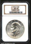 Eisenhower Dollars: , 1972-S $1 Silver MS66 NGC. Mintage: 2,193,056. ...