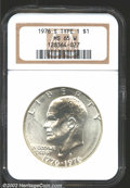 Eisenhower Dollars: , 1976-S $1 Silver MS65 NGC. Mintage: 11,000,000. The latest ...