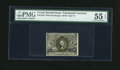 Fractional Currency:Second Issue, Fr. 1234 5c Second Issue PMG About Uncirculated 55 EPQ....