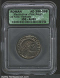 Ancients:Roman, Ancients, Roman. AD 296-298 Maximinus-First Reign AE Follis-...