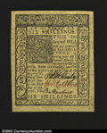 Colonial Notes:Delaware, Delaware January 1, 1776 6s Superb Gem New....