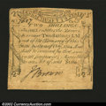 Colonial Notes:Massachusetts, Massachusetts October 16, 1778 2s Extremely Fine....