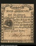 Colonial Notes:Massachusetts, Massachusetts 1779 4s6d Extremely Fine....