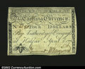 Colonial Notes:North Carolina, North Carolina April 2, 1776 $4 About New. To this cataloge...