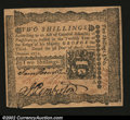 Colonial Notes:Pennsylvania, Pennsylvania April 3, 1772 2s Gem New. A beautiful note, wi...