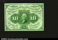 Fractional Currency:First Issue, Fr. 1242 10¢ First Issue Very Choice New. A well margined, ...