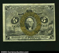 Fractional Currency:Second Issue, Fr. 1232 5¢ Second Issue Gem New. Although the centering is...