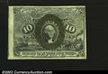 Fractional Currency:Second Issue, Fr. 1245 10¢ Second Issue New. The note is fairly off-cente...
