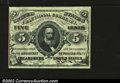 Fractional Currency:Third Issue, Fr. 1237 5¢ Third Issue Choice About New. A single corner f...