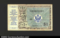 Military Payment Certificates: , Military Payment Certificate Series 472 $1, VF-XF....