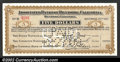 Obsoletes By State:California, 1907 $5 Associated Banks of Riverside, CA, Choice CU, punch ...