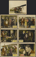 "Movie Posters:Action, Flying High (Lumas, 1926). Lobby Cards (7) (11"" X 14""). Action....(Total: 7 Items)"
