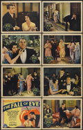 """Movie Posters:Comedy, The Fall of Eve (Columbia, 1929). Lobby Card Set of 8 (11"""" X 14""""). Comedy.... (Total: 8 Items)"""