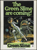 """Movie Posters:Science Fiction, The Green Slime (MGM, 1969). Poster (30"""" X 40""""). ScienceFiction...."""