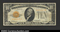 Small Size:Gold Certificates, 1928 $10 Gold Certificate, Fr-2400, VF+....