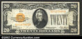 Small Size:Gold Certificates, 1928 $20 Gold Certificate, Fr-2402, VF-XF....