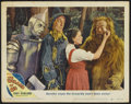 "Movie Posters:Musical, The Wizard of Oz (MGM, R-1949). Autographed Lobby Card (11"" X 14"").Musical...."