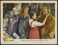 "The Wizard of Oz (MGM, R-1949). Autographed Lobby Card (11"" X 14""). Musical"