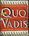 Movie Posters:Historical Drama, Quo Vadis (MGM, 1951). Pressbook (Multiple Pages). HistoricalDrama....