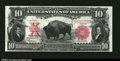 Large Size:Legal Tender Notes, Fr. 122 $10 1901 Legal Tender Note Superb Gem CU....