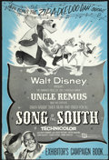 "Movie Posters:Animated, Song of the South (Buena Vista, R-1956). Pressbook (12"" X 18""). Animated...."