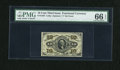 Fractional Currency:Third Issue, Fr. 1256 10c Third Issue PMG Gem Uncirculated 66 EPQ....
