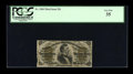 Fractional Currency:Third Issue, Fr. 1300 25c Third Issue PCGS Very Fine 35....