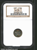 "Early Half Dimes: , 1797 H10C AU55 NGC. Mintage: 44,527. The latest Coin World ""..."