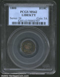 "Early Half Dimes: , 1800 H10C LIBEKTY MS62 PCGS. The latest Coin World ""Trends"" ..."