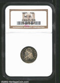 Bust Dimes: , 1821 10C Large Date MS64 NGC. Mintage: 1,186,512. The latest ...