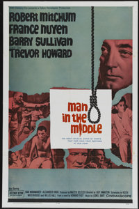 """Man in the Middle (20th Century Fox, 1964). One Sheet (27"""" X 41""""). War"""