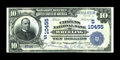 National Bank Notes:West Virginia, Wheeling, WV - $10 1902 Date Back Fr. 622 The Citizens NB Ch. # (S)10455. ...
