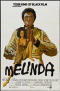 "Movie Posters:Blaxploitation, Melinda (MGM, 1972). One Sheet (27"" X 41""). Blaxploitation...."