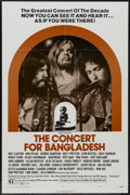 "Movie Posters:Rock and Roll, The Concert for Bangladesh (20th Century Fox, 1972). One Sheet (27""X 41"") Style B. Rock and Roll...."