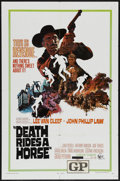 "Movie Posters:Western, Death Rides a Horse (United Artists, 1968). One Sheet (27"" X 41""). Western...."