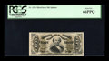 Fractional Currency:Third Issue, Fr. 1326 50c Third Issue Spinner PCGS Gem New 66PPQ....