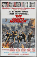 "Movie Posters:War, The Secret Invasion (United Artists, 1964). One Sheet (27"" X 41"").War...."