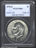 Eisenhower Dollars: , 1978-D $1 MS66 PCGS. Mintage: 33,012,890. The latest Coin ...