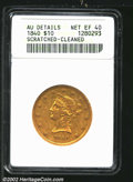 """Liberty Eagles: , 1840 $10 XF40 ANACS. Mintage: 47,338. The latest Coin World """"..."""