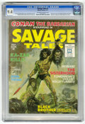 Magazines:Adventure, Savage Tales #1 (Marvel, 1971) CGC NM 9.4 Off-white to white pages....
