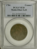 Colonials: , 1786 COPPER Connecticut Copper, Mailed Bust Left VF20 PCGS. . PCGSPopulation (6/16). (#331)...