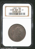 Early Half Dollars: , 1807 50C Draped Bust XF45 NGC. Mintage: 301,076. The latest Co...