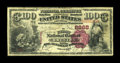 National Bank Notes:Kentucky, Owenton, KY - $100 1882 Brown Back Fr. 519 The First NB Ch. # 2868....