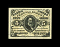 Fractional Currency:Third Issue, Fr. 1238 5¢ Third Issue Superb Gem New. A glorious little note, with huge margins, perfect print quality, terrific centering...