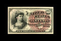 Fractional Currency:Fourth Issue, Fr. 1257 10¢ Fouth Issue Superb Gem New. Bright colors, beautiful margins, a bold watermark and tons of eye appeal all come ...