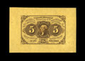 Fr. 1231SP 5¢ First Issue Wide Margin Face Superb Gem New. An absolutely perfect example, with huge margins, fresh...