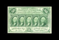 Fractional Currency:First Issue, Fr. 1312 50¢ First Issue Choice About New. There is an extremely light center fold on this otherwise Gem example. The margin...