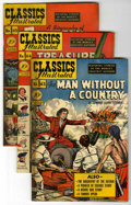 """Golden Age (1938-1955):Classics Illustrated, Classics Illustrated #63-68 First Editions Group - Davis Crippen(""""D"""" Copy) pedigree (Gilberton, 1949-50).... (Total: 6)"""