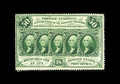 Fractional Currency:First Issue, Fr. 1311 50¢ First Issue Choice New. Fully perforated all the wayaround, with spectacular color and more-than-acceptable ce...